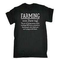 Farming Noun Comedy Farmer Joke Funny T-SHIRT Birthday gift present for him her