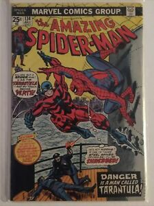Amazing Spiderman 134 VF+ First Appearance Of The Tarantula, Punisher Cameo Key