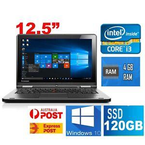 "Lenovo Yoga 20C0 i3-4010U 4GB 120GB SSD-12.5"" HD Graphics Notebook Laptop Win10"