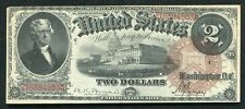 FR. 52 1880 $2 TWO DOLLARS LEGAL TENDER UNITED STATES NOTE EXTREMELY FINE+