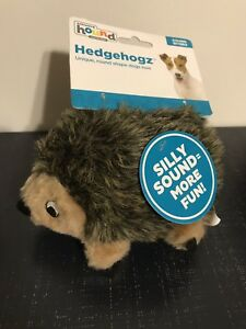 OUTWARD HOUND HEDGEHOGZ UNIQUE ROUND SHAPE DOGS LOVE TOY with Squeaker