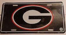 University of Georgia Bulldogs Metal License Plate Tag