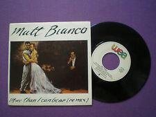 MATT BIANCO More Than I Can Bear SPAIN PROM0 45 1985