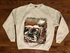 Colorado Avalanche Hockey VTG CSA Gray Sweatshirt Men's XL Nutmeg Mills