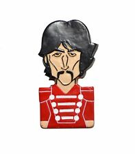 The Beatles Sgt Pepper Cartoon Style George Harrison Fridge Magnet Gift Souvenir