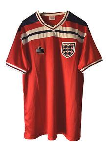 ENGLAND 1982 AWAY UMBRO FOOTBALL SOCCER SHIRT JERSEY 2 EXTRA LARGE ADULT-RETRO