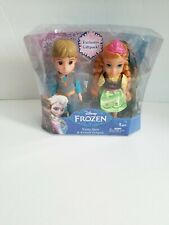 Disney Frozen Young Anna and Kristoff Dolls New