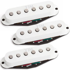 Seymour Duncan YJM Fury STK-S10 Single Coil Pickup Set (N/M/B) - White