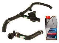 Complete Upper Lower Radiator Hose Coolant Kit Oem For Jaguar X Type 02 08