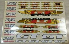 Old school bmx gt wing decal sticker freestyle race nos