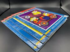 Lot Of 4! Vintage Fisher-Price 1992 Pop-Out Tray Puzzle 4 -12 Pieces Ages 2-5