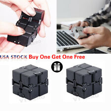 2X Infinity Cube For Stress Relief Fidget Anti Anxiety Stress Funny EDC USA