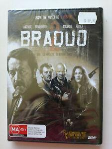 Braquo Season 2 DVD Brand New In Plastic Hard Action Drama Region 4