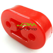 RED 8mm EXHAUST MUFFLER POLY-URETHANE HANGER for AUDI BMW MIT NISSAN FORD mazda