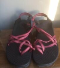 CHACO  Pink Women's  Classic Double Strap  COMFORT Sandals  Shoes Size 11