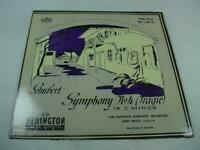 Schubert Symphony No 4 In C Minor - Remington Records RLP-199-37  Mono