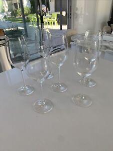 New. Schott Zwiesel Fortissimo Bordeaux Wine Glasses, Set of 6