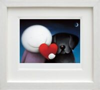 DOUG HYDE  'WE SHARE LOVE'  LTD EDT GICLEE PRINT MOUNTED AND FRAMED