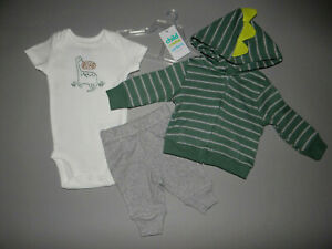 NWT, Baby boy clothes, Preemie, Carter's Cardigan Set/  ~SEE DETAILS ON SIZE~~