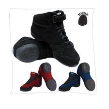 Black  Sansha Boomeville hi-top split sole dance sneakers - size UK 12