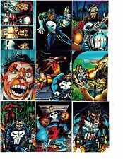 The Punisher War Journal Entry 1992 Comic Images.  Three cards for $1.