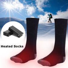 Heated Socks Warm Feet Foot Warmer Electric Battery Warming Thermal Sox Hunting