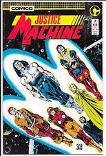 Comico - Justice Machine - #2 Feb 1987
