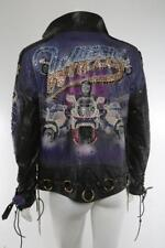 Gregg Allman Brothers The Tony Alamo Black Leather Wheels Jacket Collectible L
