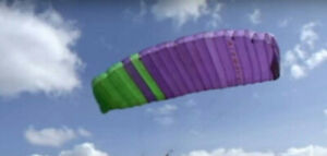 Paraglider wing Air Wave Black Magic 90-120kg.