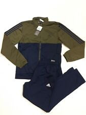 Adidas Originals Men's 3- Stripes Track Suit Training Running Navy New Sz Medium