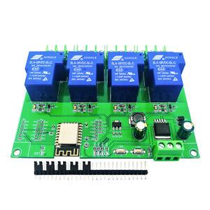 ESP-12F Development Board  ESP8266 Wifi 4 channel 5V 30A Smart Relay Module