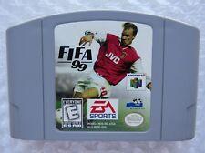 FIFA 99 Nintendo 64 N64 Authentic Retro Soccer OEM Rare Video Game Cart GREAT!