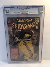 Amazing Spider-Man #30 - CGC 3.0 - 1st appearance of the Cat Burglar