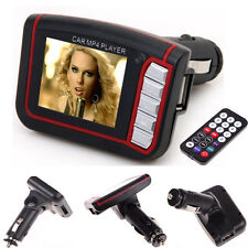 LCD Car Auto MP3 MP4 Player Wireless FM Transmitter Modulator SD/ MMC W/ Remote