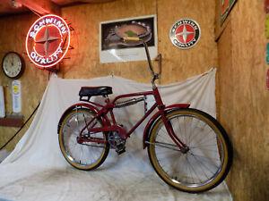 "1970s HUFFY MONO-SHOCK MOTO-BIKE 24"" BMX YAMAHA MUSCLE MOTORCROSS DIRT"