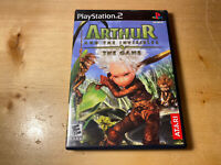 Arthur and The Invisibles The Game w/manual (Sony Playstation 2/PS2; 2006)