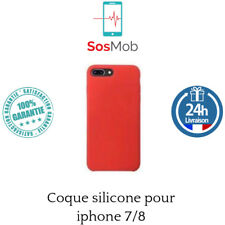 coque en silicone pour Apple iphone 7 / 8 - ROUGE FRAMBOISE