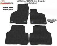 Vw Passat 2005 to 2014 Fully Tailored Rubber Car Mats