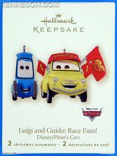 Luigi and Guido: Race Fans! Disney/Pixar's Cars Hallmark Christmas Ornament 2008