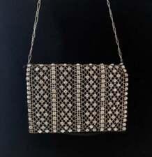 Vintage Art Deco diamanté evening purse