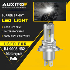 AUXITO H4 9003 HB2 LED Motorcycle Headlight Bulb HID Hi/Low Beam High Power M4 A