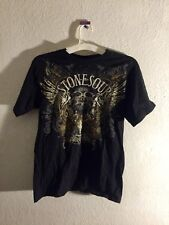 Stone Sour - Audio Secrecy - 2010 Band Tee - Vintage - Men's Small