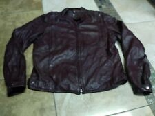 Vtg Yamaha Hein Gericke Jacket Leather Motorcycle 38 Men Bomber 70S Racer Cafe