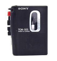Sony Diktiergerät TCM-323 Cassette-Corder Walkman DEFEKT (A-450)