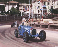 1931 Monaco Grand Prix (Bugatti Type 51 Louis Chiron) door Graham Turner