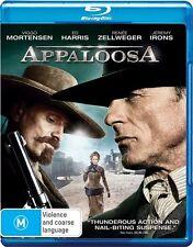 Appaloosa - Ed Harris/ Renee Zellweger (Blu-ray, 2009) mint