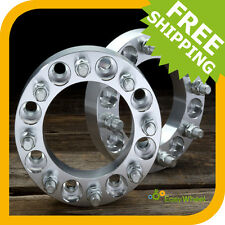 8x6.5 to 8x6.5 Wheel Spacers Adapters fits most 8 lug Chevy and GMC 2 inch