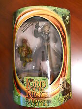 Lord of the Rings movie Fellowship Orc Overseer action figure~Hobbit~Goblin~Nib