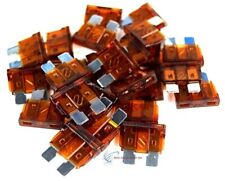 100-Pack 7.5A Atm/Ato Blade Style Fuse Powersport Motorcycle Atv Rzr Automotive