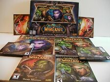 World of Warcraft: Battle Chest (Windows/Mac,2007)COMPLETE (FREE SHIP/GIFT )